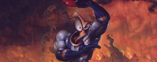 Earthworm Jim HD has co-op multiplayer
